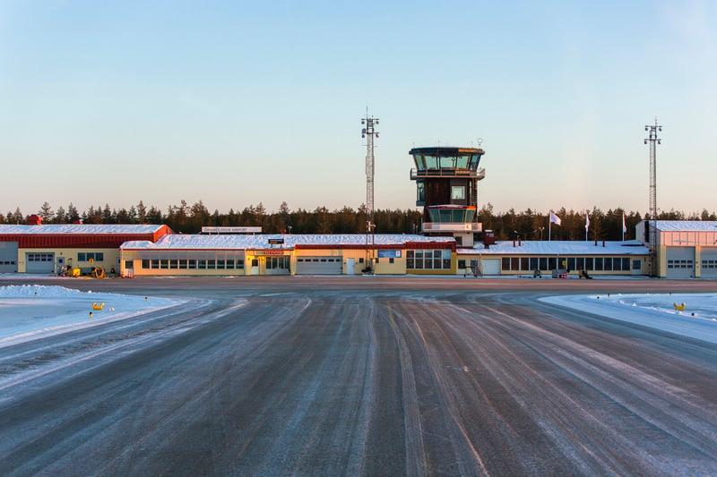 Övik flygplats  text