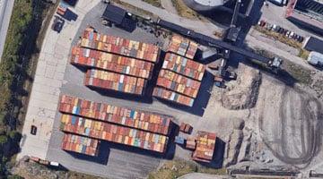 torv-containrar
